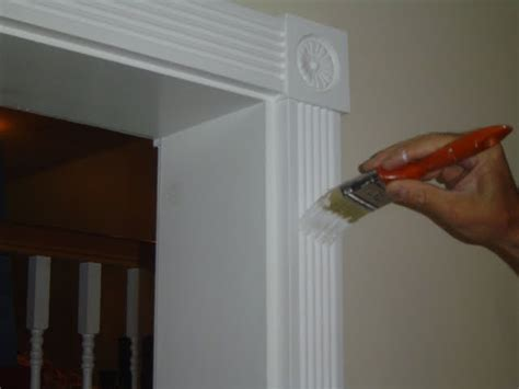how to paint interior woodwork touch up painting of interior wood trim