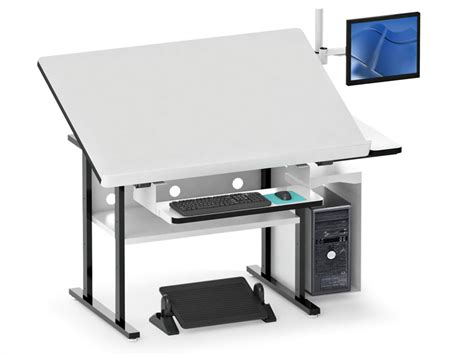 drafting table with computer modern drafting table all in one afcindustries