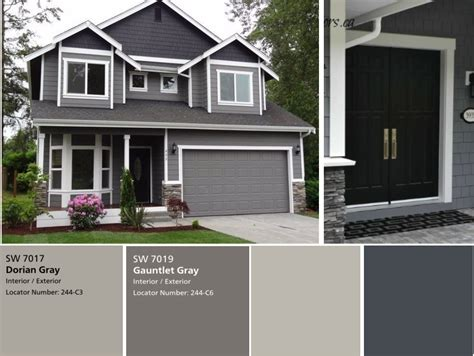 exterior gray paint we the exterior painted already with sherwin williams