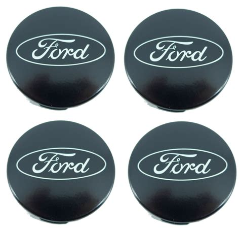 Ford Center Caps by 4 X Genuine Ford Transit Custom Alloy Wheel Center Caps