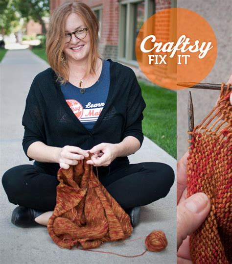 how to fix a dropped knit stitch fix it friday fix dropped stitches in your knitting