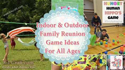 family reunion crafts for indoor and outdoor family reunion ideas for all ages