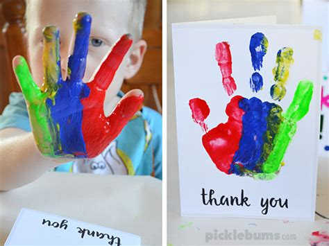 how to make a thank you card printable thank you cards to make with your
