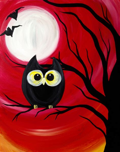 paint nite yerman s paint nite spooky buckhead saloon pittsburgh