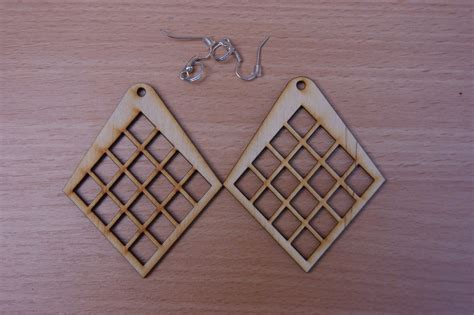 decoupage shapes plain wooden earrings many shapes decoupage craft