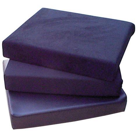 cusion foam 16 x 16 x 4 poly knit covered foam cushion