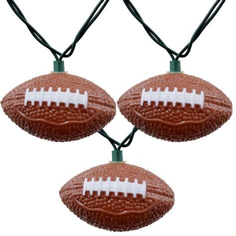football string lights bunch o footballs string lights