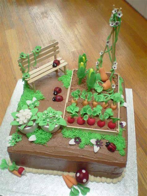 vegetable garden cake ideas best 25 allotment cake ideas on garden cakes