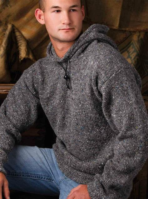 knitted hoodie 17 best ideas about hoodie pattern on