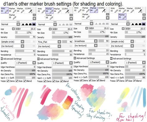 paint tool sai marker tutorial 17 best images about digitaltutorials on