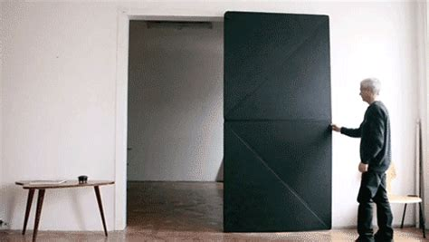 rubber st gif touch to open kinetic doors unfold like sized