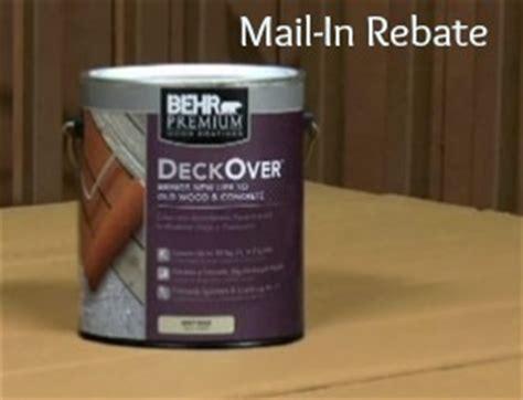 home depot paint rebate behr home depot behr paint rebate 5 1 gallon or 20