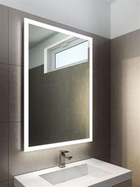 wide bathroom mirror halo wide led light bathroom mirror 842v illuminated