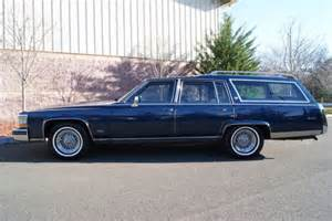 1986 Cadillac Fleetwood Brougham For Sale by 1986 Cadillac Fleetwood Brougham Station Wagon 427 Cu In