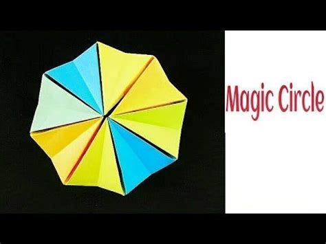 magic circle origami 90 best images about kaleidocycle flexagon on