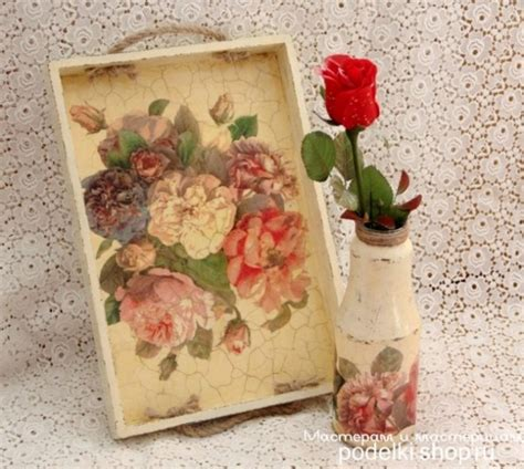 decoupage tray ideas bandeja decoupage elementos do envelhecimento mdf