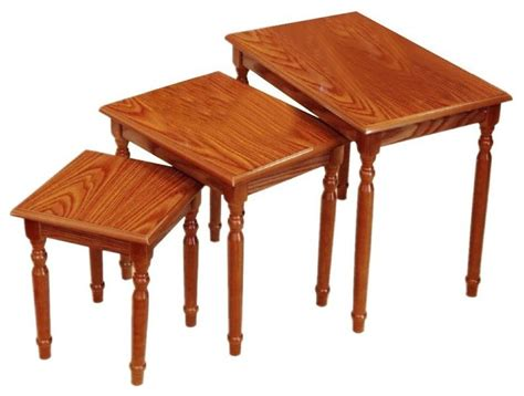 traditional coffee table sets set of 3 nesting tables traditional coffee table sets