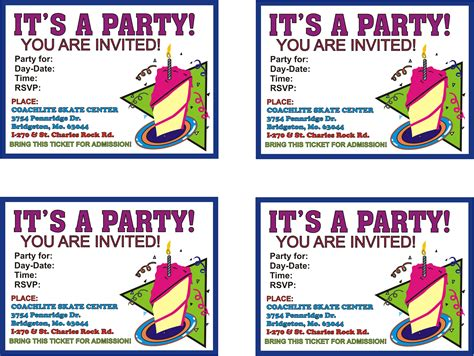 make birthday invitation cards for free printable printable birthday invitation cards vertabox