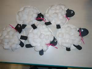 sheep crafts for lambs crafts