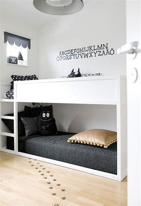 cool bunk bed rooms 45 cool ikea kura beds ideas for your kids rooms digsdigs