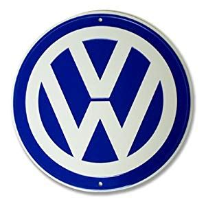 Volkswagen Sign In by Vw Logo Garage Sign Automotive