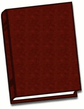 Free Brown Book Clipart Domain Brown Book Clip
