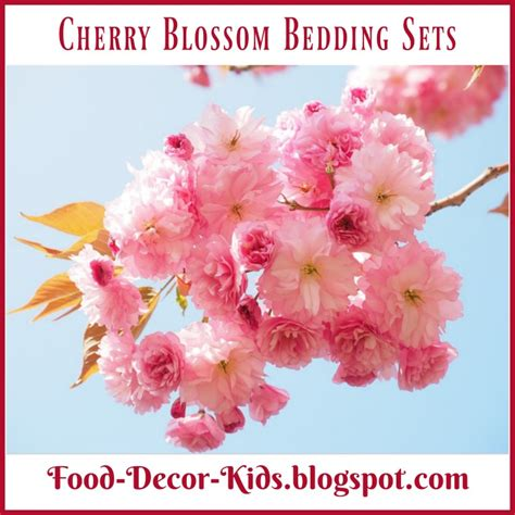 cherry blossom comforter set food decor cherry blossom bedding sets