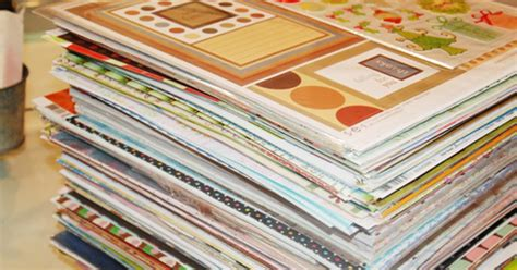 diy crafts with scrapbook paper this you will not believe what she makes with