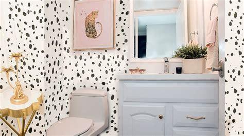 Cheap Bathroom Makeover Ideas by Cheap Bathroom Makeover Idea Half Bathroom
