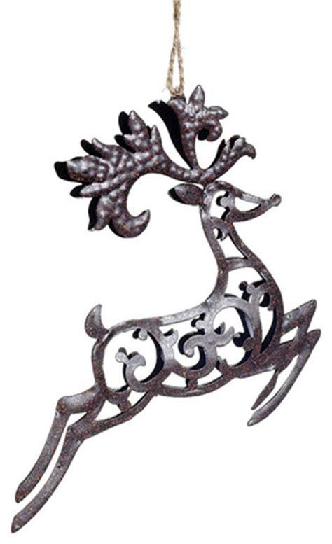 metal ornaments home decor metal reindeer ornament rustic ornaments