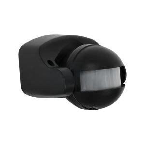 D 233 Tecteur De Mouvement Sur 150 176 233 Tanche Ip44 Couleur Noir Eclairage Exterieur Avec Detecteur De Mouvement Brico Depot