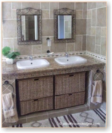 rustic vanities for bathrooms rustic bathroom vanities with a difference