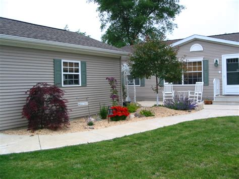 Burm House landscaping ideas for mobile homes mobile amp manufactured