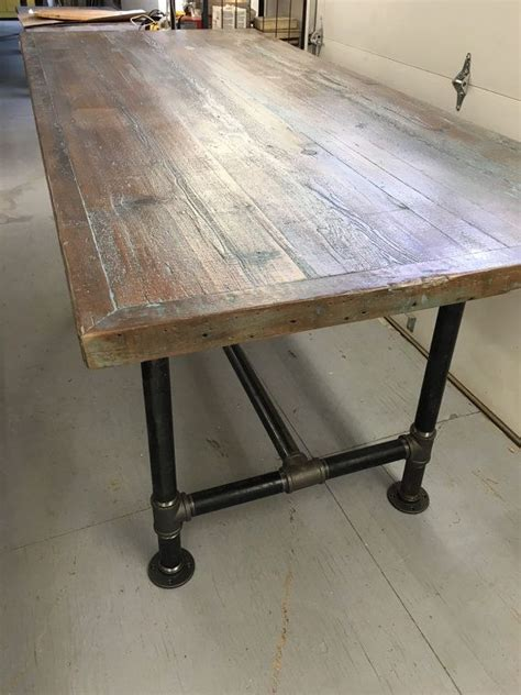 industrial kitchen table furniture best 25 reclaimed wood tables ideas on tree