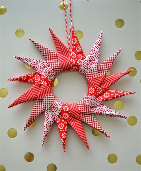 fabric origami ornaments 25 unique fabric origami ideas on fabric