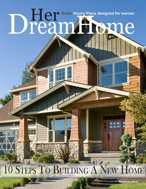 house plan magazines issue of home magazine features step by step home building guide dfd house plans