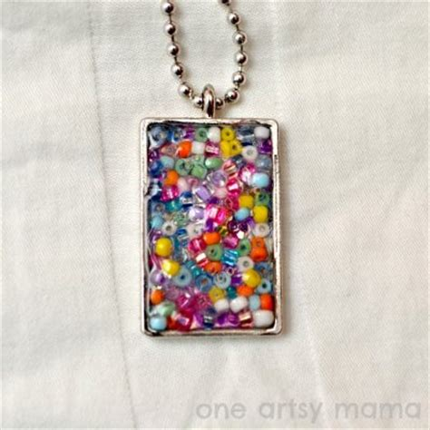 seed bead crafts seed bead necklace family crafts