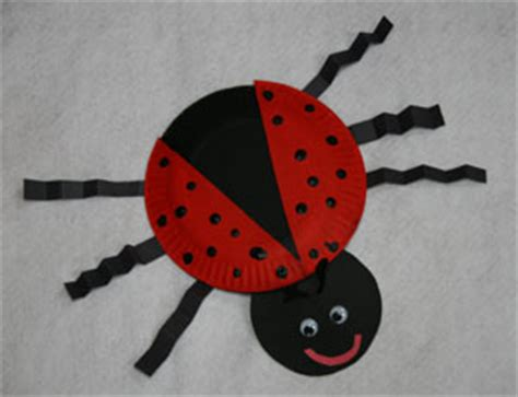 ladybug paper plate craft bug crafts all network