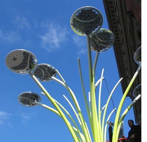 solar tree lights solar trees may light up europe metaefficient