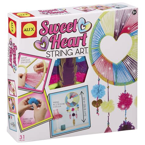arts and crafts toys for alex toys craft sweetheart string alexbrands