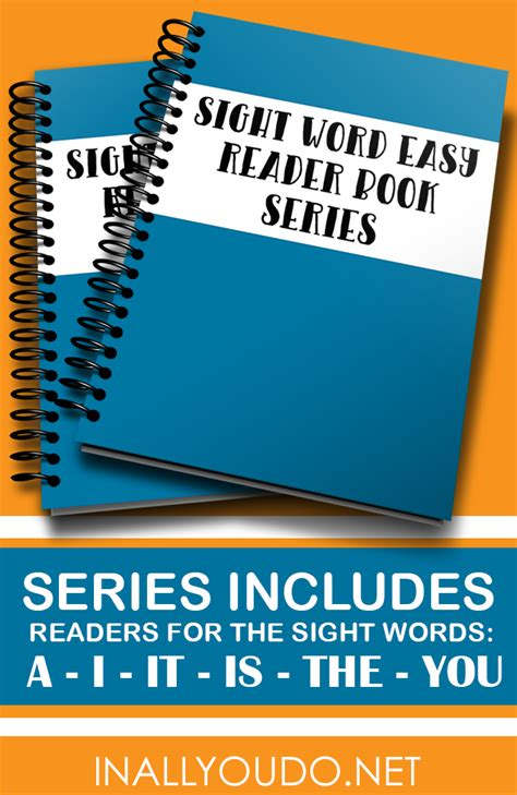 in these words read sight words easy readers series a i it is the you