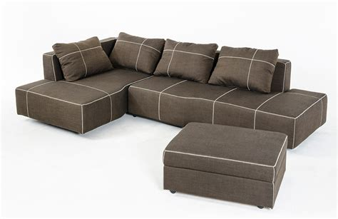 fabric sectional sofas with chaise camden modern fabric sectional sofa w chaise
