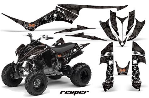 yamaha raptor 350 atv graphic kit