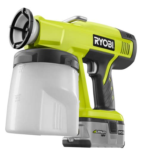 Review Ryobi One Cordless Power Paint Sprayer