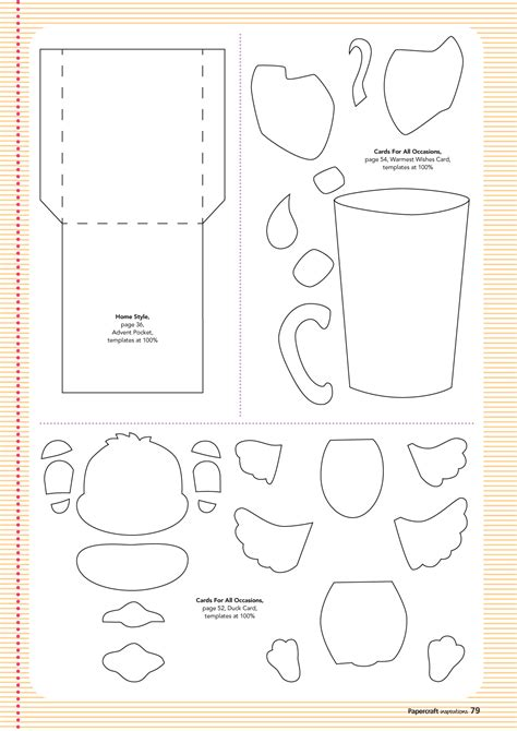 make a card free printable free templates from issue 132 papercraft inspirations