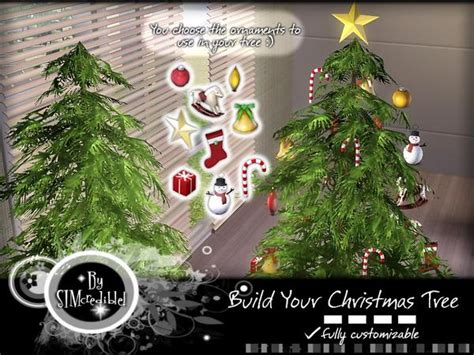 sims 3 weihnachtsbaum simcredible s building your tree set