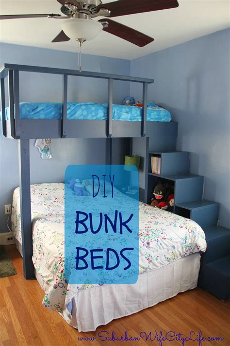 diy bunk beds diy bunk beds suburban city