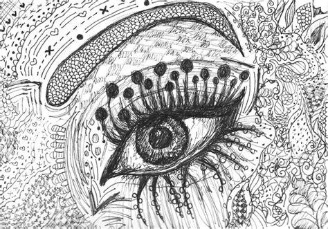 eye designs illustrated eye design drawing eye illustration