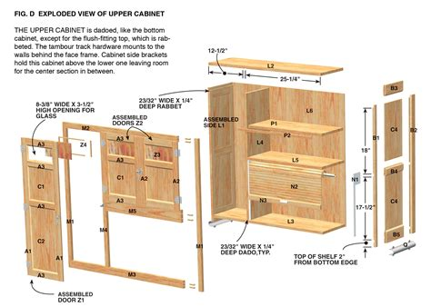 kitchen cabinets plans cabinet plan wood for woodworking projects shed plans