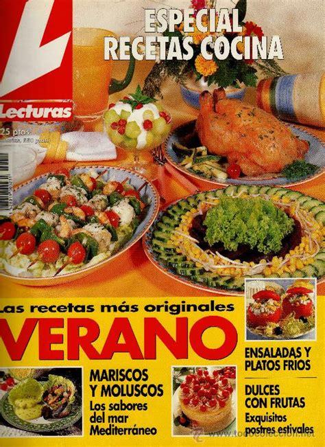 recetas de cocina revista lecturas revista lecturas especial recetas de cocina n 186 comprar